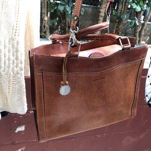 Vintage Leather Dooney & Bourne Crossbody Handbag